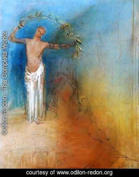 Odilon Redon - The Crown