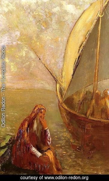 Odilon Redon - The Departure