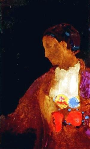 Odilon Redon - The Doges Wife
