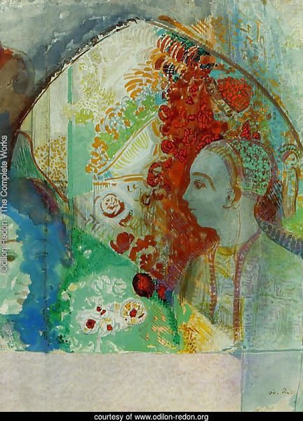 Odilon Redon - The Complete Works - The Cyclops - odilon-redon.org
