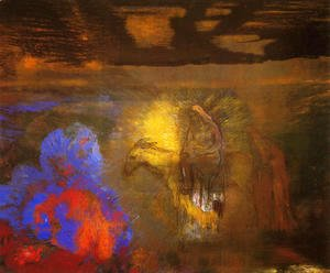 Odilon Redon - The Flight Into Egypt