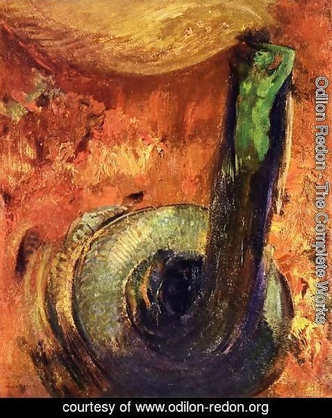Odilon Redon - The Green Death