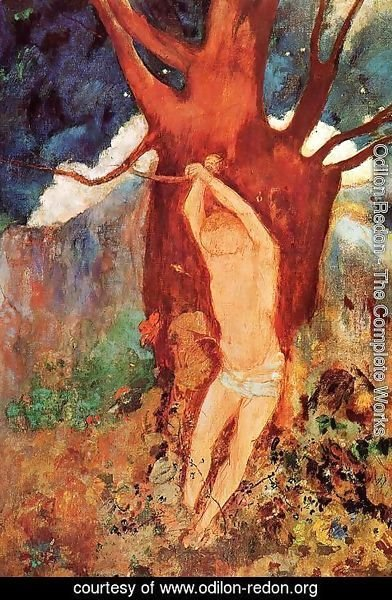 Odilon Redon - The Martyrdom Of Saint Sebastian