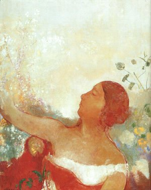 Odilon Redon - The Predestined Child (Ophelia)