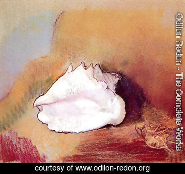 Odilon Redon - The Seashell