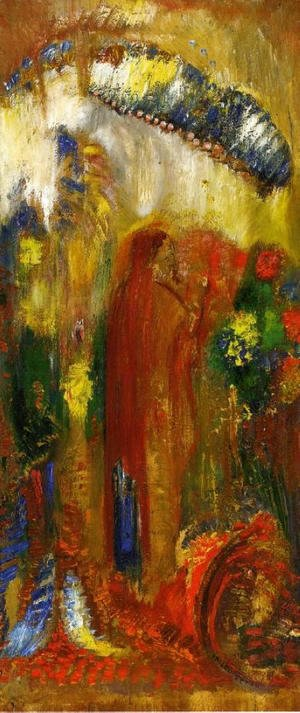 Odilon Redon - The Sermon