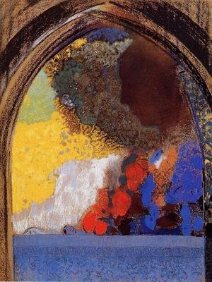 Odilon Redon - The Window 2