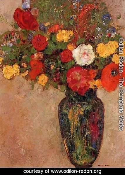 Odilon Redon - Vase Of Flowers3