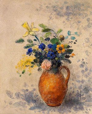 Odilon Redon - Vase Of Flowers4