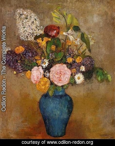 Odilon Redon - Vase Of Flowers6