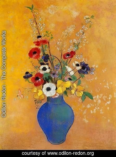 Odilon Redon - Vase Of Flowers7