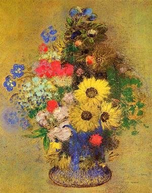 Odilon Redon - Vase Of Flowers10
