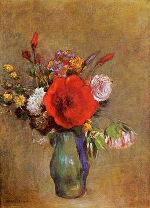 Odilon Redon - Vase Of Flowers12