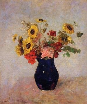 Odilon Redon - Vase Of Flowers13