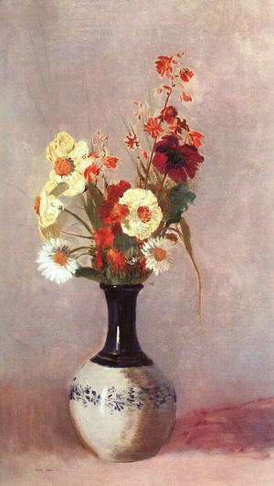 Odilon Redon - Vase Of Flowers15