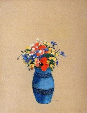 Odilon Redon - Vase Of Flowers16